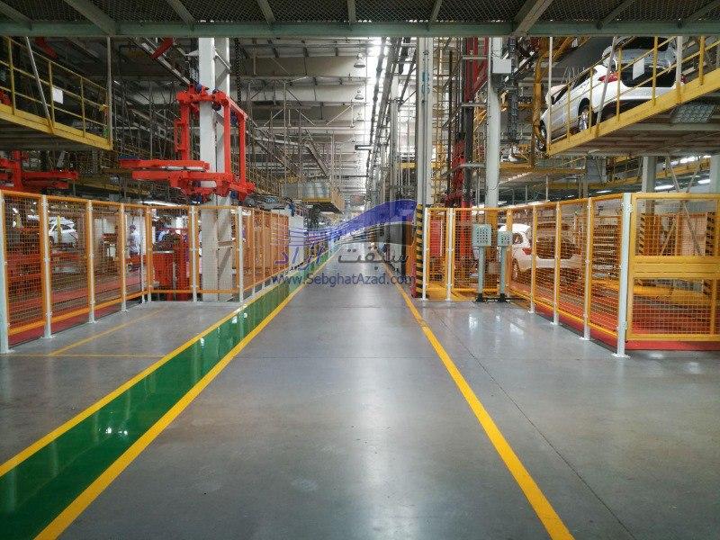 بازدید از خط تولید شرکت چری در چین