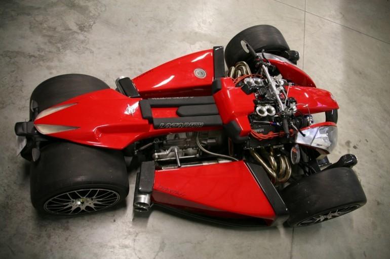 موتور سیکلت چهار چرخ Wazuma V8F
