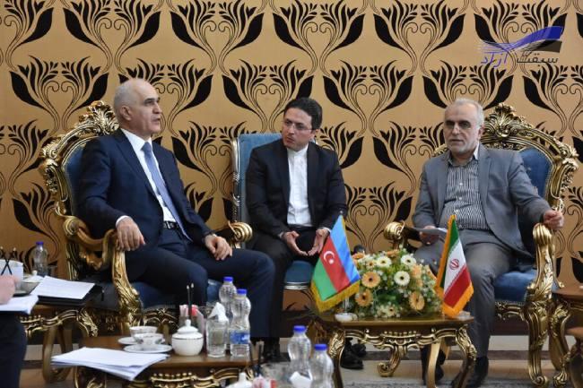 توسعه همه جانبه همکاری های اقتصادی و مالی میان ایران و جمهوری آذربایجان