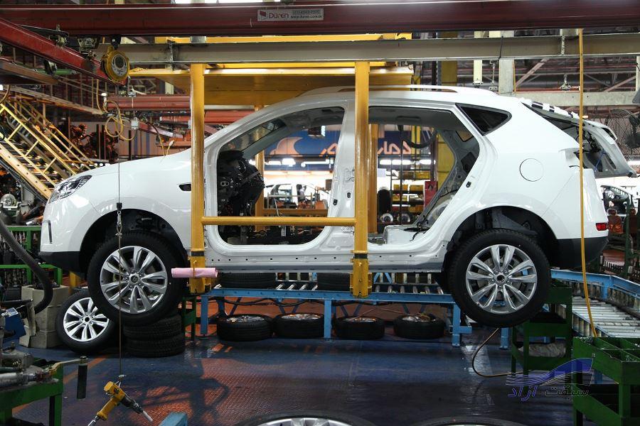 خودکفایی کرمان موتور در تولید برخی از قطعات خودروهای جک