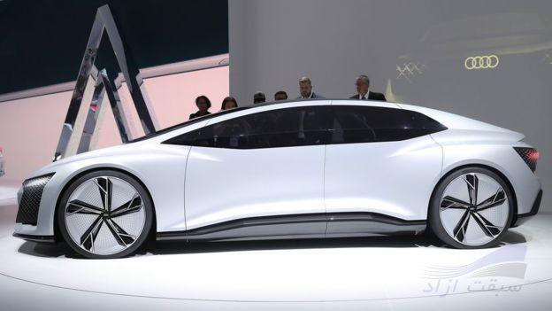 خودروی مفهمومی خودران الکتریکی آئودی