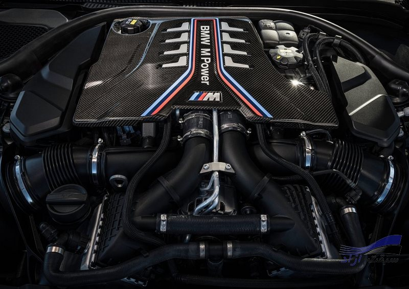 موتور bmw m5 2021