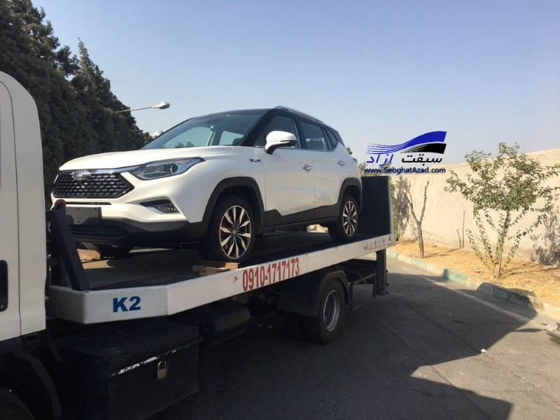 جک S4 به کرمان موتور رسید
