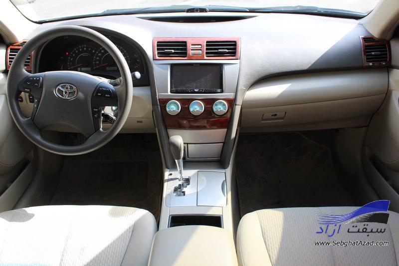 تجربه رانندگی با تویوتا کمری GL 2007 میانسال محبوب ژاپنی