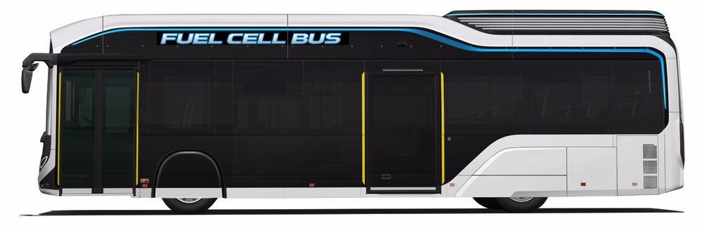 اتوبوس تویوتا Sora خودرویی هیدروژنی در المپیک 2020 توکیو