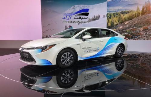 نسل جدید تویوتا کرولا در نمایشگاه خودرو آنجلس 2018 رونمایی شد