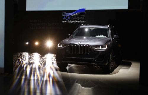 بی ام و X7 در نمایشگاه خودرو لس آنجلس 2018 به نمایش درآمد