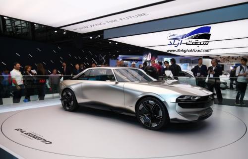 پژو در نمایشگاه خودرو پاریس 2018، تلفیقی از خودروهای هیبریدی و خودران