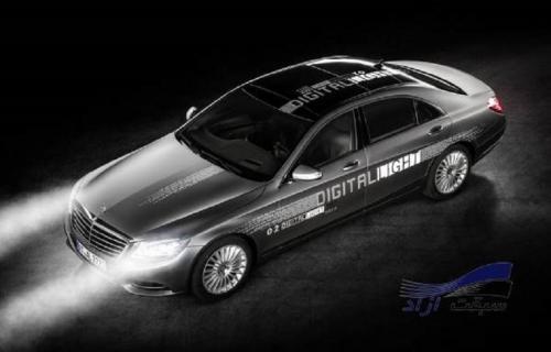 تکنولوژی جدید Head-Up Display در چراغ خودروها