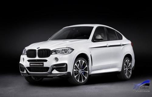 وقتی M به جان BMW بیفتد؛ بیامو X6 M Performance Parts