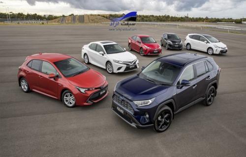 فروش خودروهای هیبریدی تویوتا از 15 میلیون دستگاه گذشت