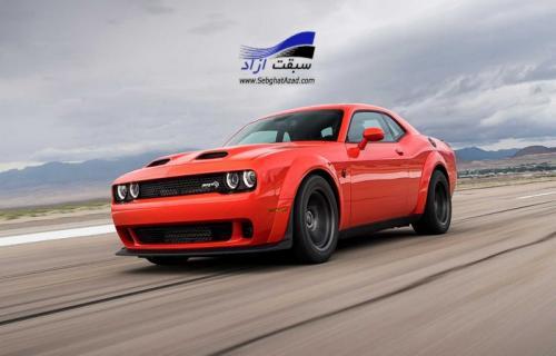 دوج چلنجر SRT سوپر استاک سریعترین خودرو عضلانی در دنیا