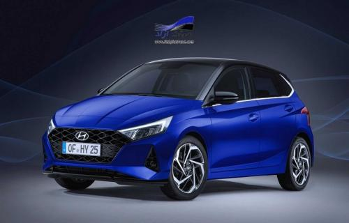 هیوندای i20 مدل 2020 با طراحی جدید و پیشرانه هیبریدی معرفی شد