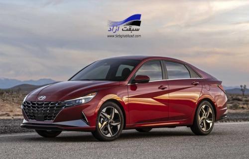 مشخصات فنی هیوندای النترا مدل 2021 با پیشرانه هیبریدی