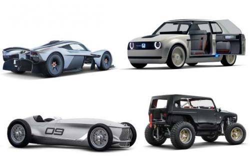 10 خودروی کانسپت مورد علاقه ما در سالی که گذشت
