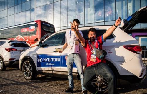 برندگان مسابقه هیوندایی به جام جهانی روسیه می روند