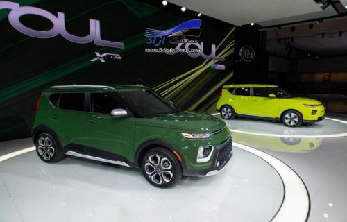 نسل سوم کیا سول در نمایشگاه خودرو لس آنجلس رونمایی شد