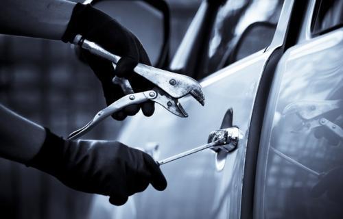 سرقت خودرو از روی شکم سیری!