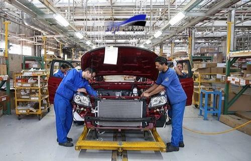کاهش 39 درصدی تولید 10 ماهه ایران خودرو