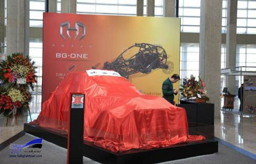 گفتگو با خالق خودرو باگی آرش BG ONE پدیده نمایشگاه تهران