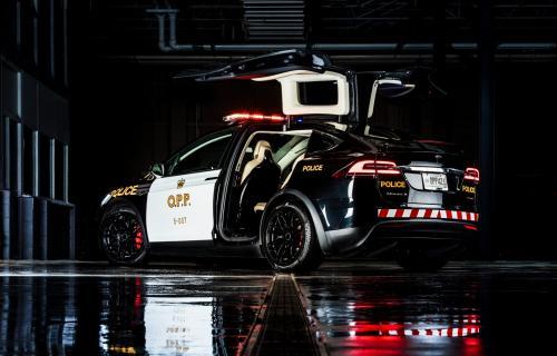 تسلا مدل X الکتریکی، خودروی پلیس شد