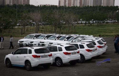 دومین گردهمایی خودروهای هایما S7