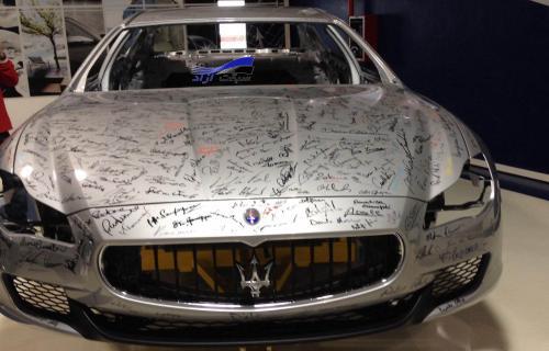 بازدید سبقت آزاد از نمایشگاه خودرو تورینو ایتالیا گالری تصاویر
