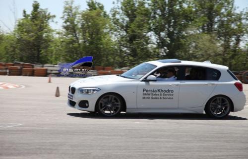 گزارش تصویری تستدرایو بیامو سری1 پرشیا خودرو