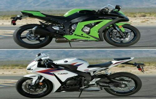 مقایسه دو موتورسیكلت هوندا CBR1000RR و كاوازاكی Ninja ZX10R