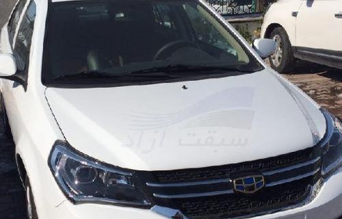 جیلی gc6 فیس لیفت به زودی در بازار ایران