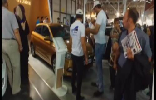نمایشگاه خودرو مشهد غرفه کرمان موتور و کارمانیا
