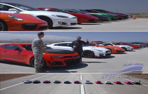 کدامیک از این 12 ماشین سوپر اسپرت برنده درگ خواهد بود؟
