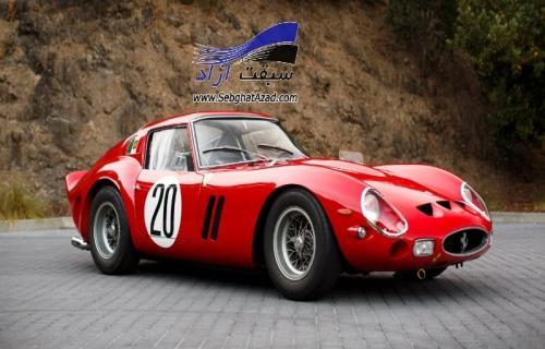 فراری 250 GTO گرانترین خودروی تاریخ که در یک مزایده فروخته شده
