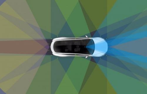 اتومبیل خودران تسلا دنیا را چگونه میبیند؟
