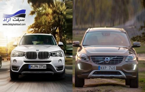 مقایسه دو خودروی کراس اوور اسپرت لوکس؛ بی ام و X3 و ولوو XC60