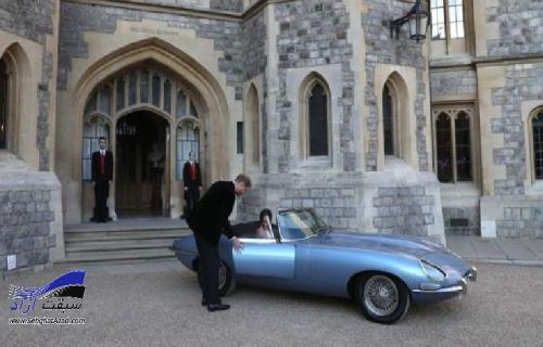 ماشین عروسی سلطنتی خودرویی کلاسیک با موتور الکتریکی
