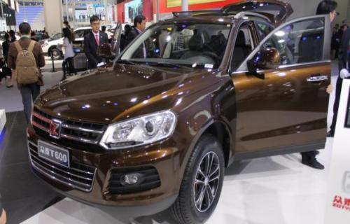 سودای زوتای چین برای فروش شاسیبلند T600 در آمریکا