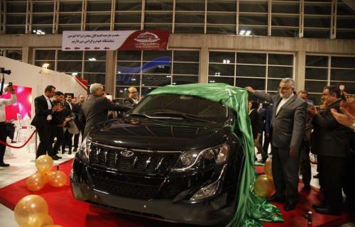 محصولات ماهیندرای هند توسط عظیم خودرو رونمایی شد
