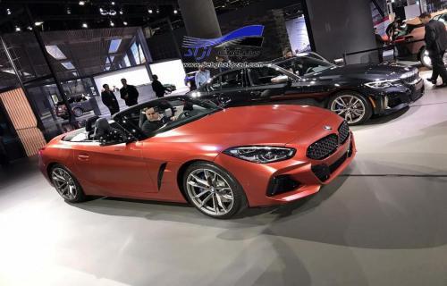 نسل جدید بی ام و Z4 در نمایشگاه خودرو لس آنجلس 2018 به نمایش درآمد