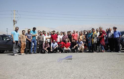 گزارش گردهمایی خودروهای چانگان cs35