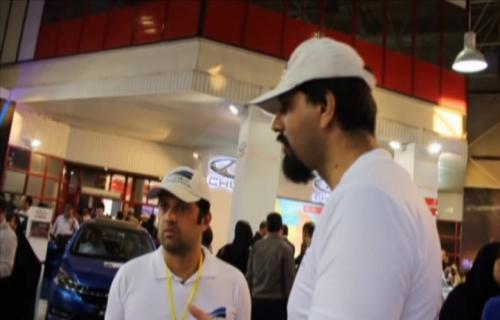 نمایشگاه مشهد بسترن b30، مدیران خودرو و نیسان جوک