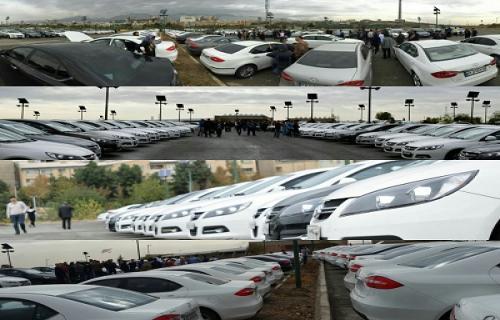 گردهمایی بی سابقه 140 خودرویی Jac J5 در تهران