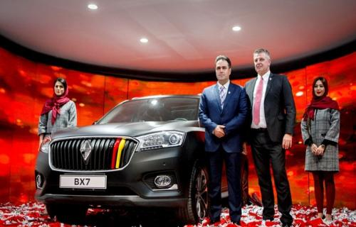 شاسی بلندهای بورگوارد در نمایشگاه خودرو تهران رونمایی شدند