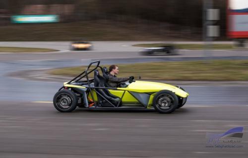 تجربه رانندگی با چهارچرخه اسپرت برقی Kyburz eRod
