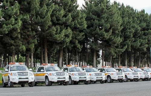 ارائه خدمات نوروزی و امداد ویژه مشتریان بهمن موتور