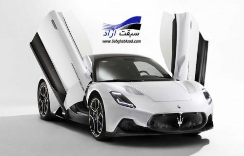 مازراتی MC20 مدل 2021، قدرتمندترین خودرو شش سیلندر دنیا
