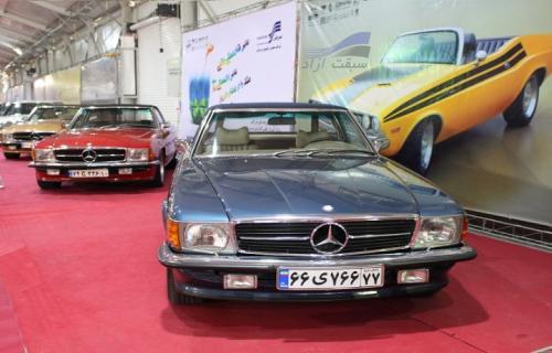 جشنواره نمایش موتور سیکلت و خودروهای کلاسیک و خاص در برج میلاد +تصاویر