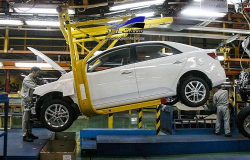 ریزش آمار تولید سایپا/ تشدید نگرانی از صنعت خودرو کشور