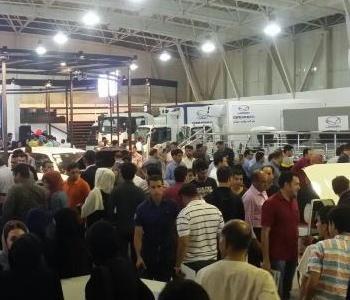نمایشگاه خودروی شیراز بالاتر از نمایشگاه های البرز و ارومیه نمره قبولی گرفت