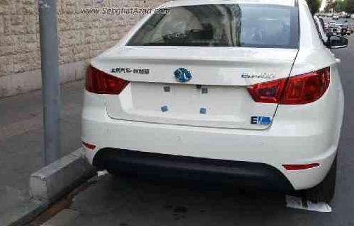 بایک EU400 خودروی جدید الکتریکی در خیابان های تهران
